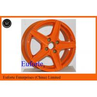 Buy cheap Orange Aluminum Alloy Custom Retro Style Wheels For Toyota Honda product