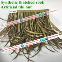 African synthetic thatch artificial roof materials for Synthetic roofing materials