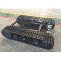 Buy cheap 60  Links Rubber Track Undercarriage 357kg Weight For Robot / Loader Machinery product