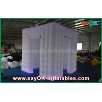 Buy cheap Shopping Mall Two Doors Wedding Inflatable Photo Booth Portable with Led product