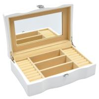 Buy cheap Small Rectangle Wooden stackable jewellery boxes Hot Stamping for gift product