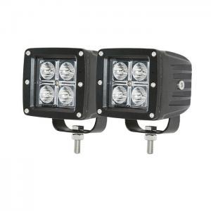 "Buy cheap 4"" inch 12W LED Work Light Bar Spot Cubes Led Pods 10-30V Lamp Offroad Driving Fog light product"
