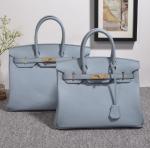 Buy cheap high quality 35cm women light blue Togo leather handbags fashion brand handbags designer handbag H-Y37 product