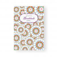 Buy cheap Cultivate Attitude Gratitude Journal Book , Floral Pattern Custom Made Notebooks product