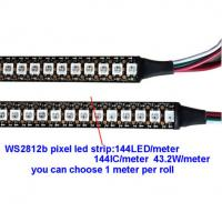 Buy cheap Individually 144 leds 2811 IC 5v ws2812B addressable rgb led strip product