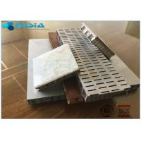 Buy cheap Perforated 6mm Side Length Aluminum Honeycomb Material Core Anti Static Composite Floor product