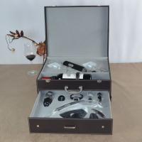China Deluxe Wine Accessories Gift Box With Cordless Design Electric Polyresin Wine Opener on sale