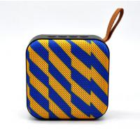 China Fabric Square bluetooth speaker,  Portable Music  bluetooth speaker for Camping use on sale
