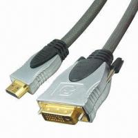 Buy cheap DVI Cable Assembly with 1080p Resolution, Supports Full OFC Wires product