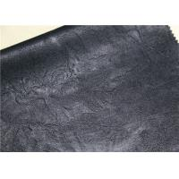 Buy cheap Dark Green Flocking Leather Handfeeling Anti - Mildew For Garment Jacket product