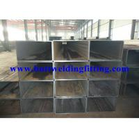 Buy cheap ASTM A500 Cold Formed Carbon Steel Square Pipe , Q195-Q345 Mild Steel Tube product