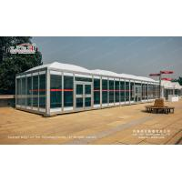 Buy cheap 5X5m Luxury Buffet Marquee Tent for Poker with Clear Window from wholesalers