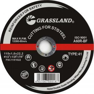 Buy cheap 4-1/2 Inch 115mm En 12413 Metal Cutoff Wheel For Grinder product