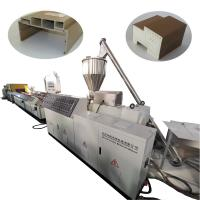 Buy cheap PVC WPC Door Frame Making Machine Wood Plastic Composite 37kw Motor Power product
