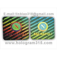 China Dot matrix  hologram label on sale