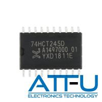 Buy cheap 74HCT245D SOIC-20 8 Bit Transceiver with 3 State Outputs Programmable IC Chip product