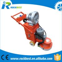 Concrete floor grinder with vacuum cleaner of groundmachinery for Best vacuum for cement floors