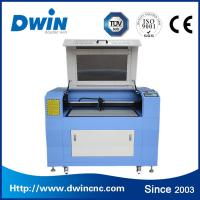 China 100w CO2 Laser Cutting Machine For Fabrics / Leather 900*600mm on sale