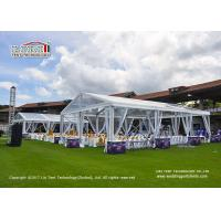 Buy cheap 10M x 20M Outdoor  Transparent Roof Marquee Tent for 200 People Wedding Party Tents product