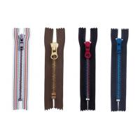 Buy cheap Semi-auto lock 8# metal zipper ,eco-friendly,OEM available for garment product
