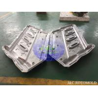 Buy cheap CNC Machine Processed Aluminum Rotomoulding Moulds For Plastic Handrail Making product