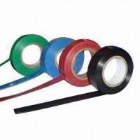 Buy cheap Glossy shiny film PVC electrical insulation tape, comes in various colors product
