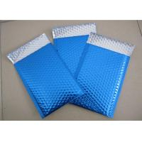Buy cheap Customized Printing Metallic Bubble Mailing Envelopes Blue Color For Shipping product