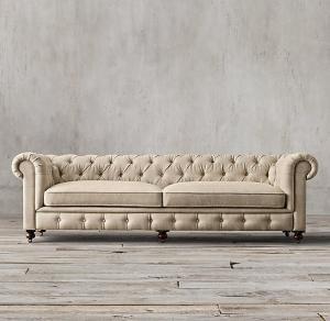 cheap chesterfield sofa replica set velvet yellow leather cushions pu living room 3 2 1