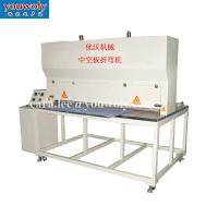 Buy cheap PP Hollow Sheet Bending Machine Welding Polyethylene Sheet Corrugated Sheet Creasing Machine product