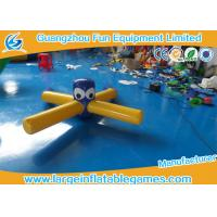 Buy cheap Pool Float Inflatable Water Park Games , Inflatable Dragonfly Water Toys For Entertainment product