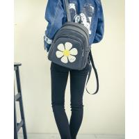 China woman PU leather bags designer lady knapsack custom small Rucksack with a cheap price on sale