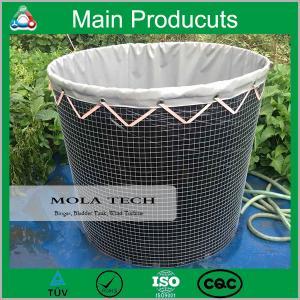 Buy cheap Reinforced PVC Tarpaulin Portable Plastic Fish Tank product