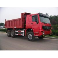Buy cheap Sinotruk howo new dump truck 25tons tipper truck Euro II 371hp red color product