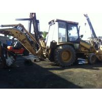 China Used CAT Backhoe Loader 416C with high quality and low price on sale