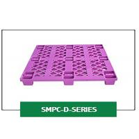 Buy cheap Industrial Nestable Four Way Efficient Service Lightweight Single Faced Plastic Pallets product