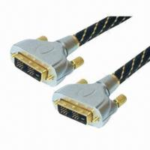 Buy cheap DVI cables, DVI plug to DVI plug metal shell product