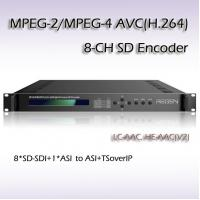 Buy cheap RES2308 MPEG-2/H.264 8 IN 1 SD Encoder low delay encoder product