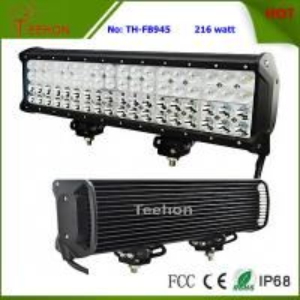 Buy cheap 216 Watt 17 Inch CREE Quad Row off-Road LED Light Bar for Trucks product