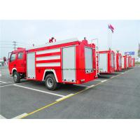 Buy cheap Emergency Rescue Fire Fighting Truck With Fire Pump 4000Liters Water Tank product