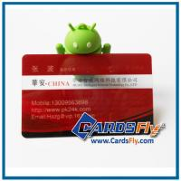 Buy cheap plastic transparent business cards product