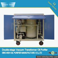 Buy cheap NSH Transformer Oil Purifiers Manufacturer, Order It Now For Factory Sale Price,transformer oil filtration product