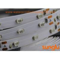 China 2.4W RGB Bright LED Strip Lights , High Brightness 3528 RGB LED Strip 30D DC 24V on sale
