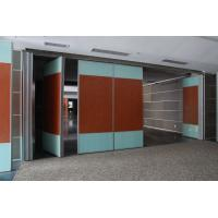 Buy cheap Hotel Banquet Hall Modular Rolling Decorative Acoustic Screens and Room Dividers product