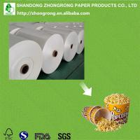 Buy cheap pe coated paper board for popcorn tub product