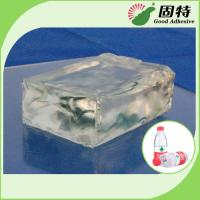 Buy cheap Colorless Transparent Hot Melt Pressure Sensitive Adhesive For labeling on plastic bottles of mineral water, beverage, e product