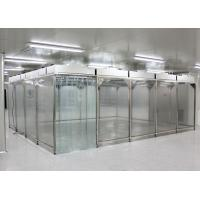 Buy cheap Anti Static Customized Movable Softwall Clean Room product