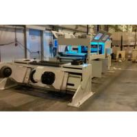 Buy cheap 90 - 120 times/Mini Automatic Paper Die Cutting Machine Frame Staker Shaftless Rewinder product