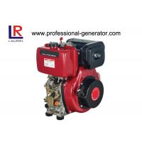 Buy cheap Single Cylinder 4 Stroke Air - cooled 7.4kw 10HP Industrial Diesel Engines with Recoil Electric Start product