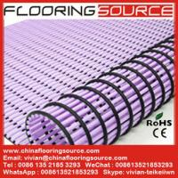 Buy cheap PVC Tube Matting bathroom mat changing room mat non-slip drain water from Wholesalers
