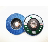 Buy cheap 125mm 40 Grit 80 Grits Angle Grinder Polishing Zirconia Flap Discs product
